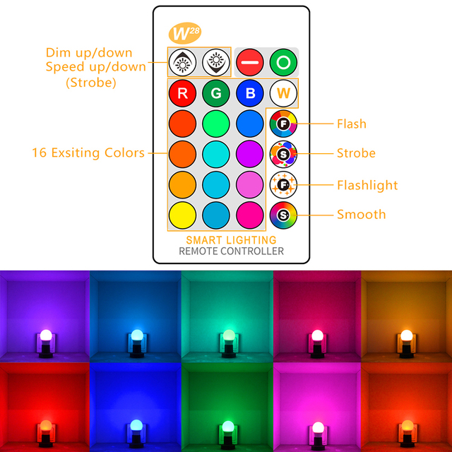 Magic RGB LED Smart Bulb