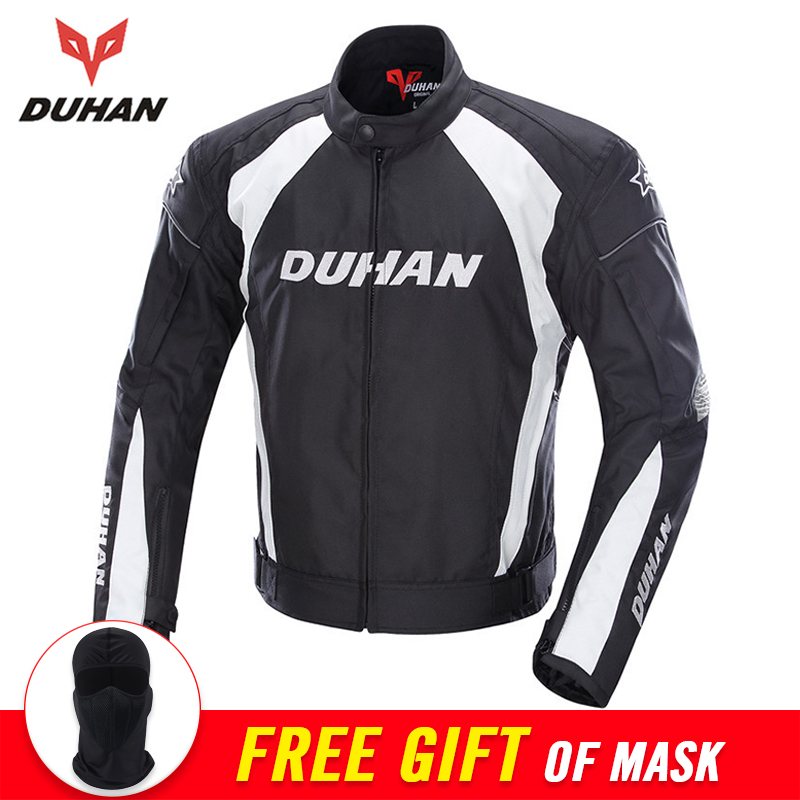 DUHAN Autumn Winter Motorcycle Jacket Men Protective Gear Moto Jacket Windproof Cold-proof Touring Motorbike Riding Clothing