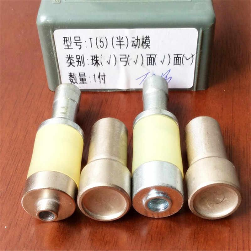 Kam T3 T5 T8 Snap Tombol Cetakan Mati untuk DK-98 Tangan Tekan Mesin Manual DK98