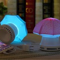 1 pcs Umbrella Shaped Stereo Multimedia Speaker LED Light Music for Phone PC Digital