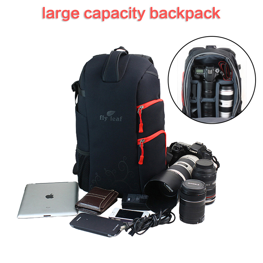 DHL Free Shipping Shockproof Waterproof Nylon Video Photo Camera Backpack Travel Bag For Canon EOS Nikon Sony DSLR SLR Laptop new pattern caden l5 camera backpack bag stylish nylon multifunction shockproof video photo bags fit for canon 50d 60d 100d 550d