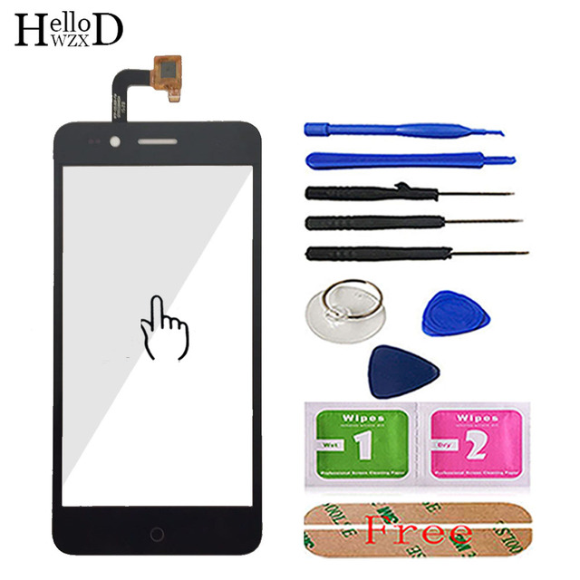 5.0 Mobile Phone Touch Glass For DEXP Ixion MS350 Touch Screen Glass Digitizer Panel Lens Sensor Tools Free Adhesive