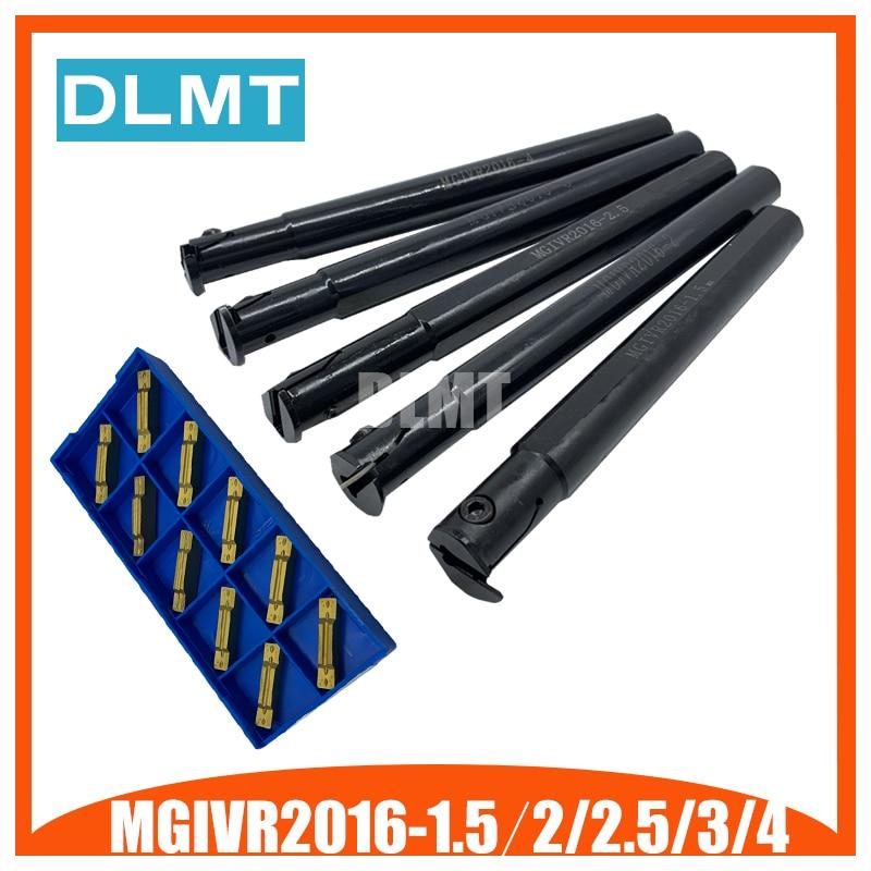 MGIVR2016-1.5 MGIVR2016-2 MGIVR2016-2.5 MGIVR2016-3 MGIVR2016-4 Tool Holder Set Internal turning tool Grooving Turning Lathe Bar