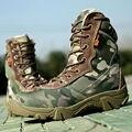 Esporte Ao Ar Livre Militar Homens Do Exército Botas de Combate Tático Botas de Deserto Tornozelo Botas Outono Inverno Caminhadas Viagem Sapatos botas tacticas