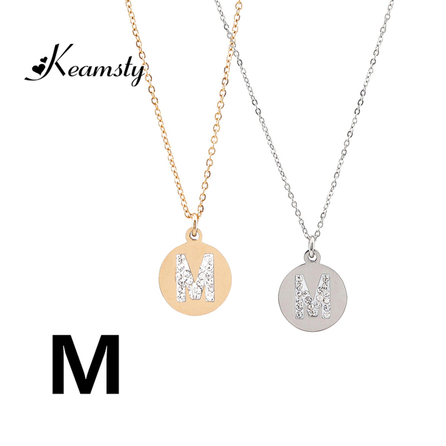 ss reaction sterling initial engraved necklace name coordinate word lily silver