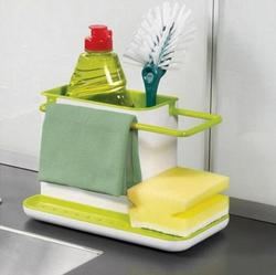Sponge Kitchen Box Draining Rack Dish Self Draining Sink Storage Rack Kitchen Organizer Stands Utensils Towel Rack YS-18