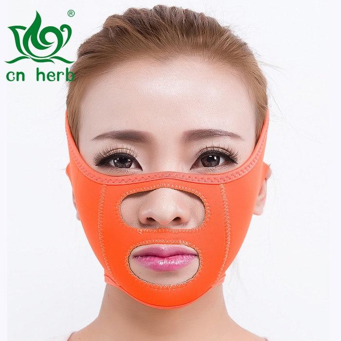 Cn Potente Erva Endurecimento Rugas Promover A Lei da Prevenção de Grãos Queixo Duplo Rosto Magro Máscara Fina Rosto Artefato Fina Face da Ferramenta