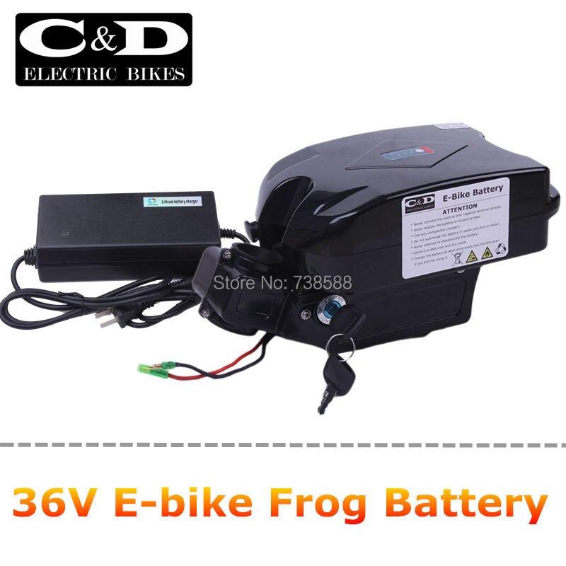 Цена за E bike / ebike аккумулятор 36V12AH FrogForg модель литий ионный аккумулятор и электрический велосипед конверсия комплект , в том числе зарядное устройство