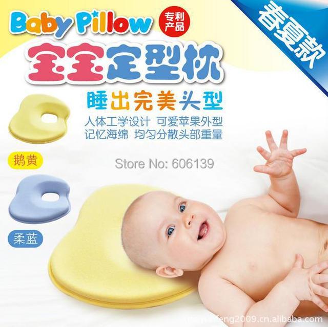 Alta qulity lento rebote esponja travesseiro criança proteja neck corretiva finalizar o projeto ,