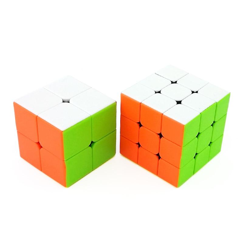 Sammeln & Seltenes Vornehm 2 Pcs Matte Regenbogen Professionelle Geschwindigkeit Magic Cube Puzzle Twist Klassische Gehirn Spiel Pädagogisches Spielzeug 2x2 3x3 & Kostenloser Versand Die Neueste Mode
