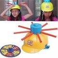 Cabeza mojada Juego Sombrero Mojado agua desafío Chistes y Juguetes Divertidos ruleta juego juguetes para niños