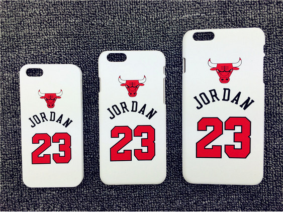 NBA star basketball player Michael Jordan 23 Chicago Hard Plastic Cover for iPhone 5 5S 6 6S 6Plus 7 7Plus SE Cases coque fundas