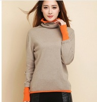 Free Shipping New Genuine Cashmere Sweater Women Cashmere Pullovers Sweater Winter Sweater