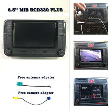 "6.5 ""Radio de Coche MIB RCD330 plus RCN210 RCD510 USB SD Bluetooth MirrorLink Para VW Passat B7 B6 CC Tiguan Polo Golf 5 6 Jetta Touran"