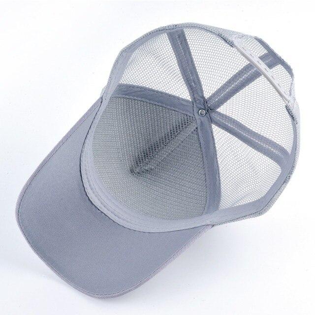 TQMSMY Cotton Mesh Hats Men's Summer Trucker Hats Women Anime Baseball Cap for Men Dragon Ball Caps Snapback Hat TMDH97
