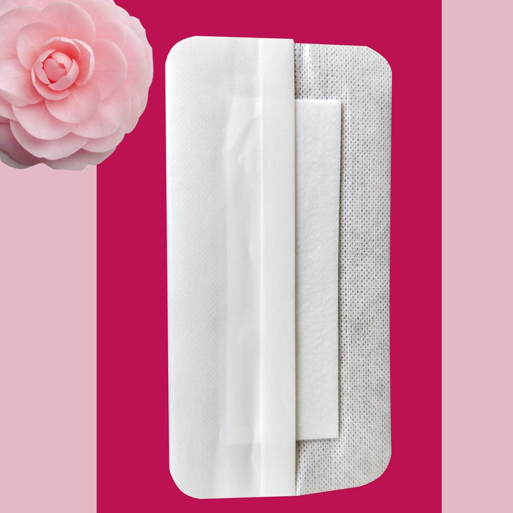 1pc 10cm*20cm Nonwoven Waterproof Wound Dressing Medical Dupont Microfiber Non-woven Spunlace Dressings Adhesive Pad Plaster