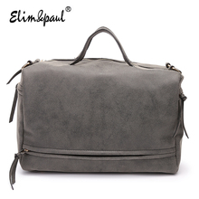 ELIM&PAUL Women Leather Handbags Women Messenger Bags Bolsa Feminina Women Bag Bolsos Women Retro Fashion Crossbody Bags BC0120