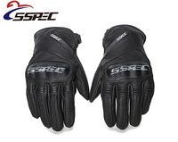 Moto Glove Motorcycle Gloves Leather Touch Screen Men Electric Bike Motocross Protective Gear Cycling Bike Luvas