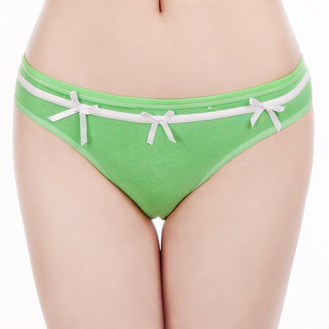 Women Transparent Briefs Lace Sexy Female Underwear Lingerie