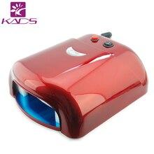 KADS Розовый УФ-Лампы 36 Вт 220-240 В Отверждения Геля Искусства Ногтя(ЕС Plug) с 4 шт. нм УФ Лампы DIY Инструменты Для 36 Вт УФ-Лампы Для Ногтей