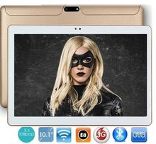 Tablet PC 10 Inch 3G Android 7.0 Octa Inti 4G RAM 64GB ROM 1280*800 IPS 5.0MP Bluetooth GPS Tablet + Hadiah(China)