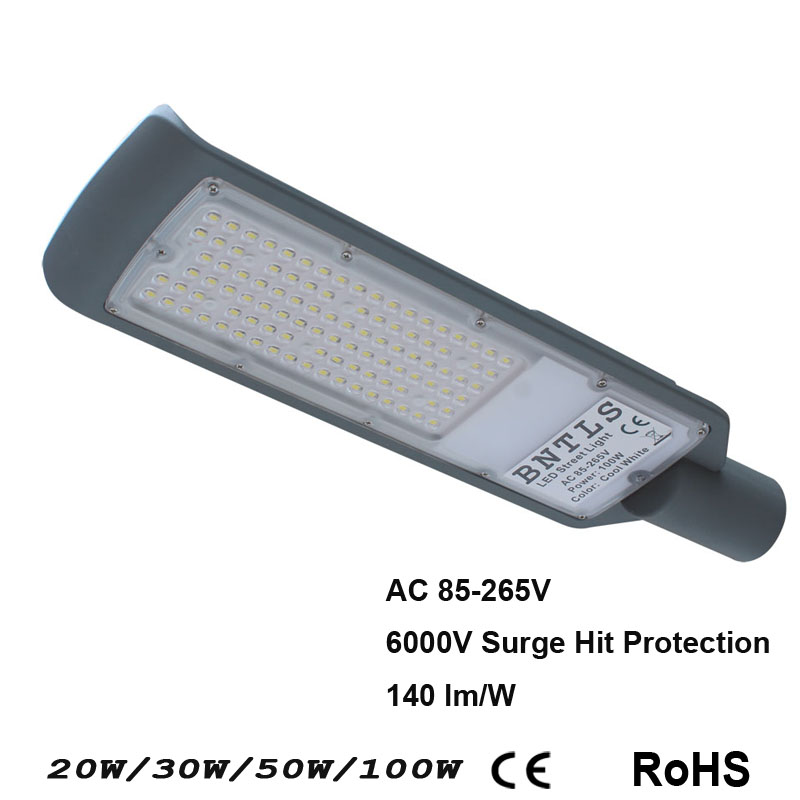 30w 50W100W LED Street Light Waterproof IP65 Street Lights Highway Plaza Garden Lamps Outdoor Lighting Road