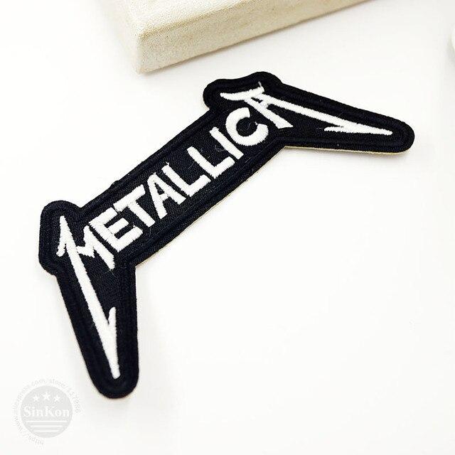 Metallica Clothes Badges 5