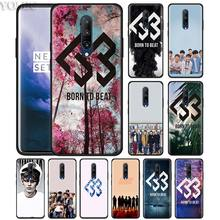 BTOB Born To Beat Kpop Phone Case for Oneplus 7 7Pro 6 6T Oneplus 7 Pro 6T Black Silicone Soft Case Cover