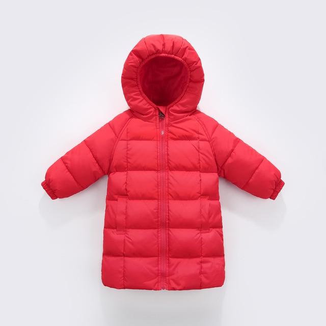 Kinderkleding Winterjas.Nieuwe Kinderkleding Jongens En Meisjes Winter Jas In De Lange