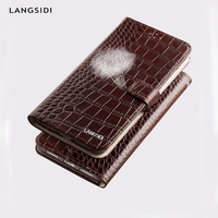 LAGANSIDE brand Flip case wallets for Samsung A50 A70 A7 2018 Magnetic silicone protective card stand cover for Galaxy s10 s8 s9
