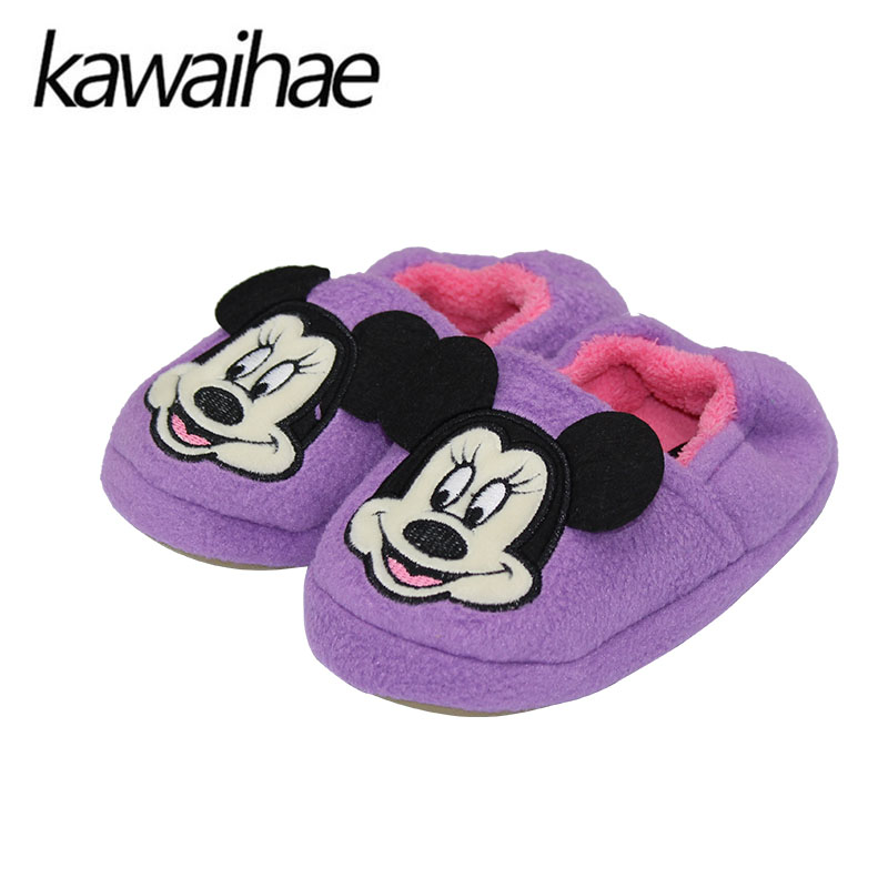 Warm Comfortable Girls Shoes Boys Breathable Home House Indoor Flats Children Slippers Kids Flats