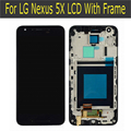 Para lg google nexus 5x lcd screen display toque digitador assembléia substituição de tela
