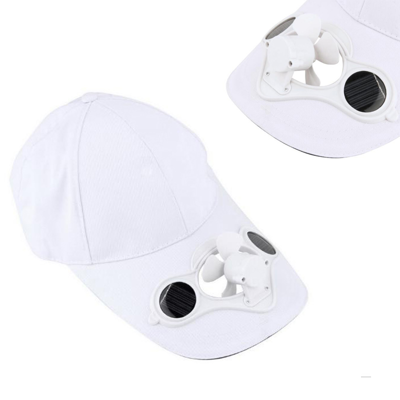 Cap Fashion Solar Hat Summer No batteries 1 Pcs Sun Power Hot Energy Cool Fan classic solar energy safety helmet hard ventilate hat cap cooling cool fan delightful cheap and new hot selling