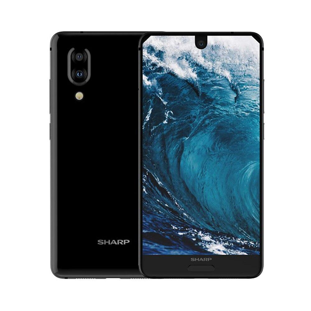 HTB1F6ulRZfpK1RjSZFOq6y6nFXat Global Version Sharp AQUOS S2 C10 4GB+64GB 5.5inch FHD+ Android8.0 Octa Core 12MP+8MP NFC Fingerprint 4G Smartphone