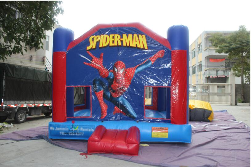 5 5X5M Inflatable Spide Men font b Bouncer b font Popular Jumping bouncy bouncing Castle For