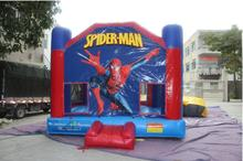 5.5X5M Inflatable Spide Men Bouncer,Popular Jumping/bouncy/bouncing Castle For Kids,Cartoon Bouncer