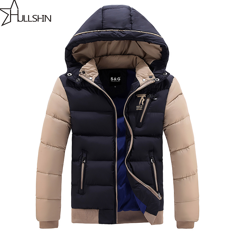 Подробнее о New Arrival Men Jacket Warm cotton coat mens casual hooded jackets Handsome Outwear thicking Parka Plus size 4XL Coats WQ8868 men winter jacket new men warm parka thick long casual jackets men down outwear comfortable cotton hooded parka plus size m 4xl