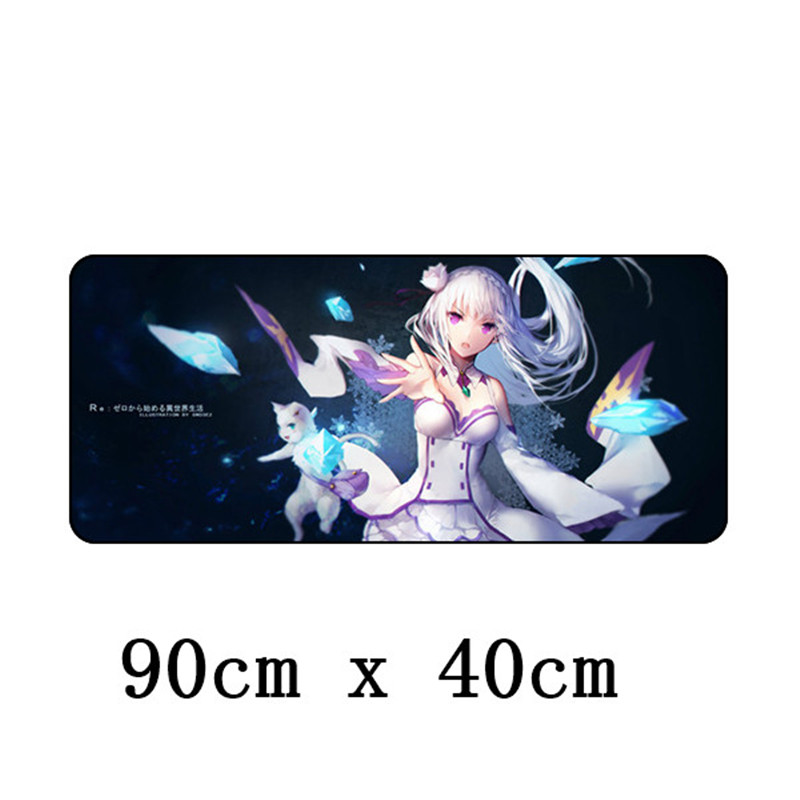 90x40cm Xl Large Gaming Mouse Pad Sexy Anime Grande