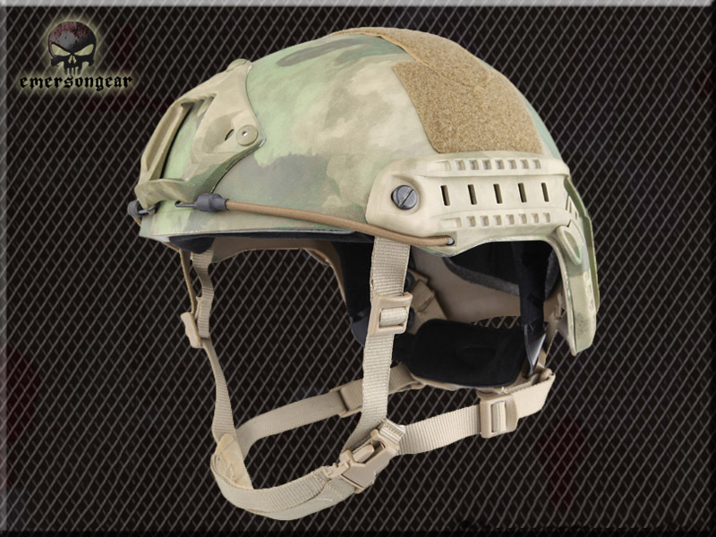 EMERSON tactical helmet Airsoft FAST BJ Helmet A TACS FG em5658G