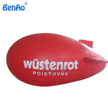 AO045 DHL&Inflatable helium Air ship /Air advertising large inflatable airplane inflatbale air ship for sale