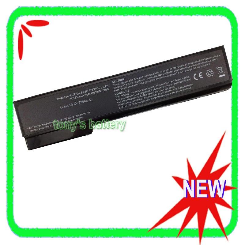 все цены на 6Cell Battery for HP EliteBook 8460p 8560p 8460w 8470p 8570p 8470w HSTNN-LB2H CC06 HSTNN-F08C 628668-001 628670-001 онлайн