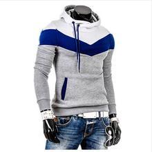 Neue 2016 Frühling Herbst Mens Casual Slim Fit Kapuzen pullover Sweatshirt Sport Männlichen (Asien Größe)