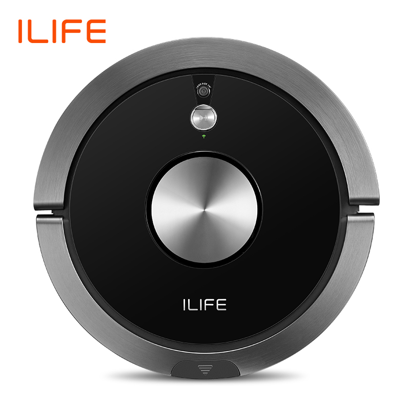 ILIFE A9s Robot Vacuum Cleaner Vacuuming & Wet Mopping Smart APP Remote Control Camera Navigation Planned Cleaning Large Dustbin