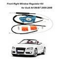 Front Right Window Regulator Repair Roller Cable Kit for Audi A4 B6/B7 2000-2008