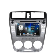 Free Shipping Wince 6.0 Car DVD Player GPS navigation For or Honda city low version 2011 with Bluetooth Ipod RDS Free Map