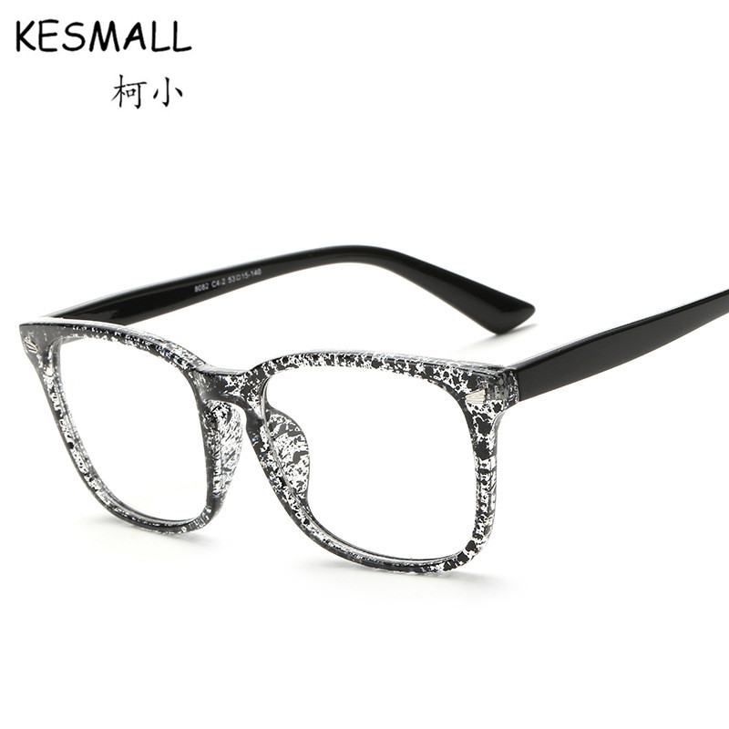 Fashion Optical Black Glasses Frame Women Men Vintage Computer Eyeglasses Frames Korean Style