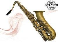 Nowa Oferta Francuski Selmer Saksofon tenorowy 54 B Muzyczne Matt Antyczna Miedź Symulacji