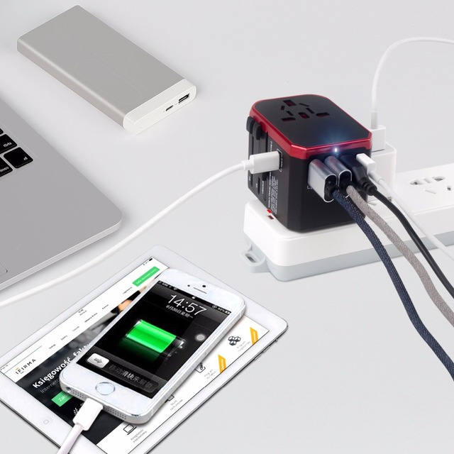 Travel Adapter Universal Power Charger – Worldwide Electric Socket Converter