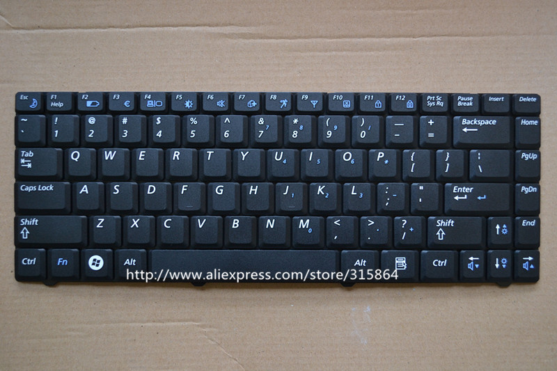 New RU/AR version laptop keyboard for Samsung R518 R520 R522 R550 R513 R515