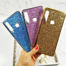 Case For Samsung Galaxy A9 2018 Case Electroplated Glitter Fish Scale Soft Silicon Phone Cover For Samsung A9 2018 A920 Cases case for samsung galaxy a9 2018 case electroplated glitter fish scale soft silicon phone cover for samsung a9 2018 a920 cases